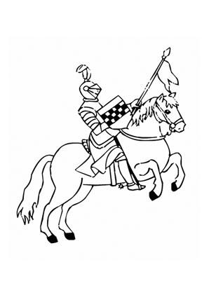Ausmalbilder Pferd Mit Ritter Pferde Malvorlagen