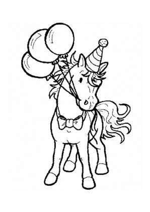 pony ausmalen